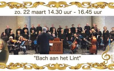 Bach komt naar het Lint !
