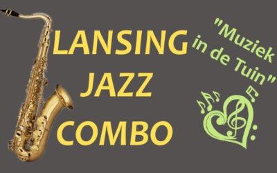 """kijk en luister naar een filmpje op 6 september """"Muziek in de Tuin"""" met het Lansing Jazz Combo"""