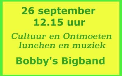 26 september lunchconcert