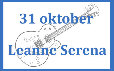zondag 31 oktober lunchconcert met Leanne Serena